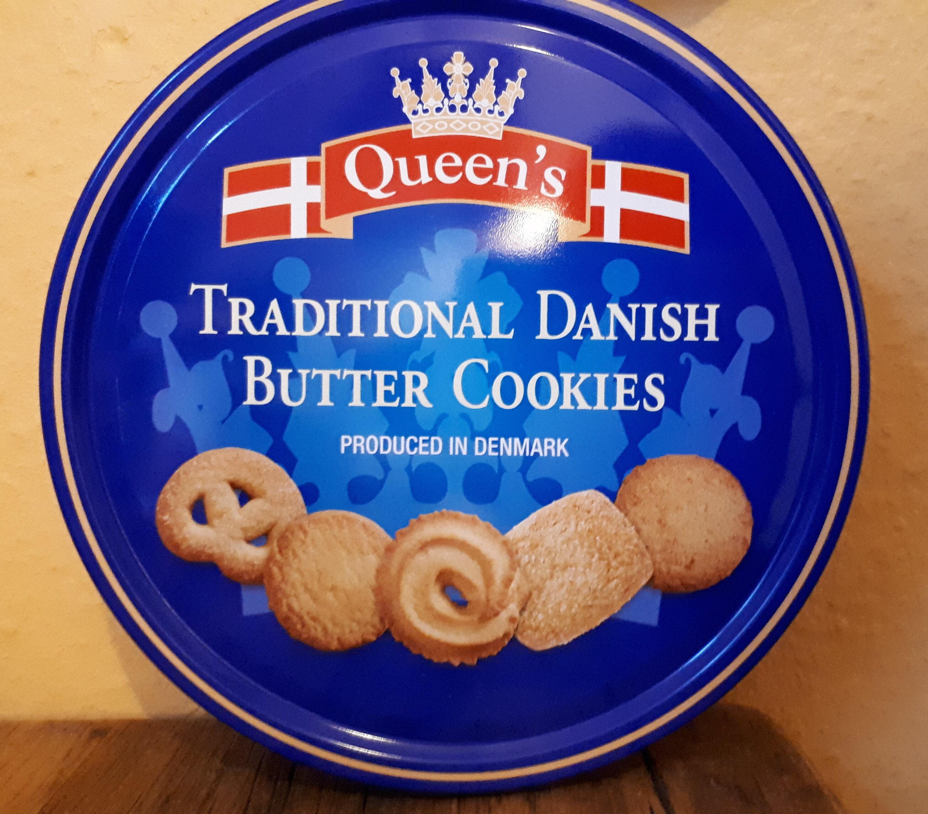 Traditional Danish Butter Cookies   Queen's   20 g