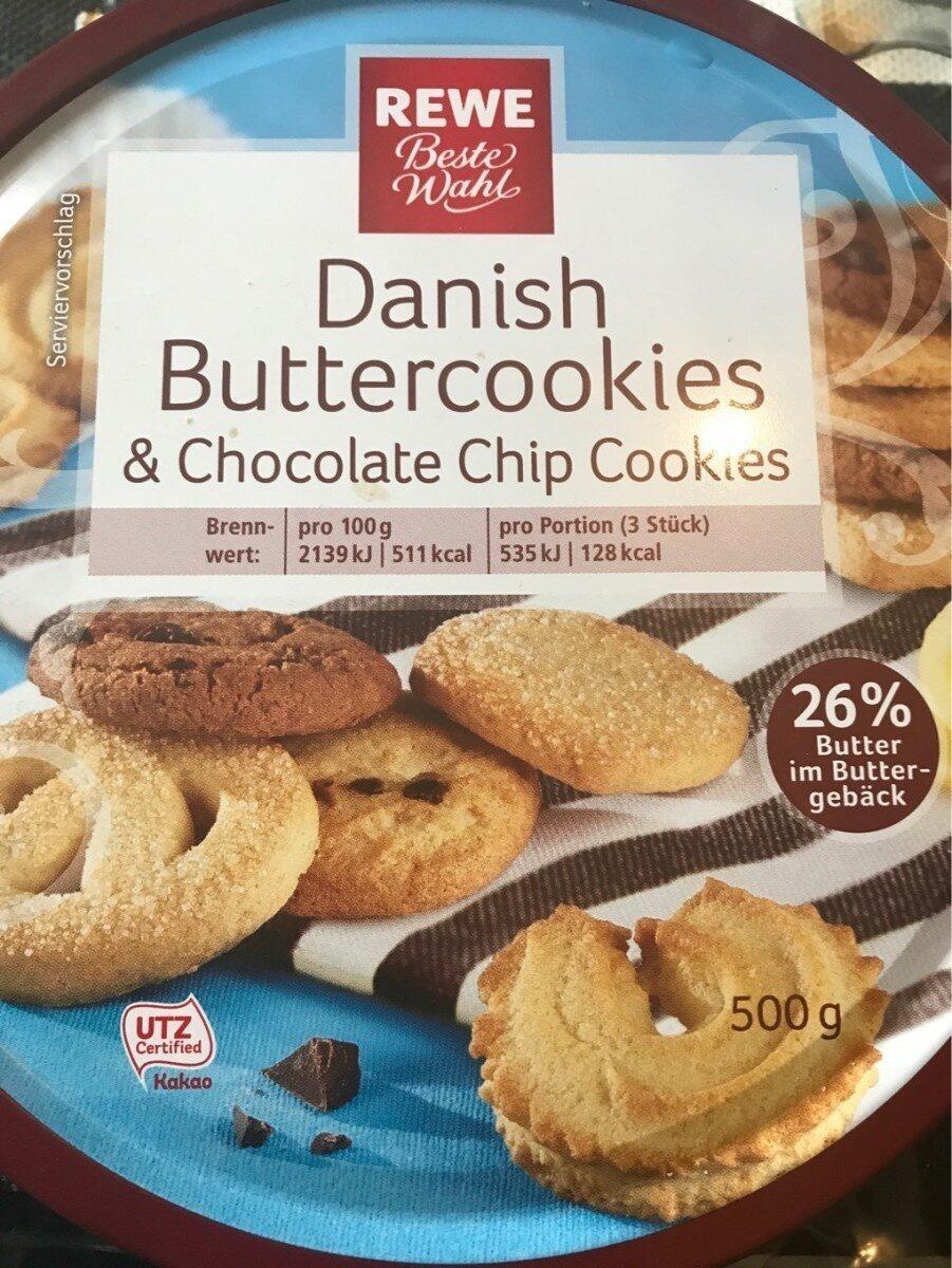 Danish Buttercookies & Chocolate   REWE   20 g