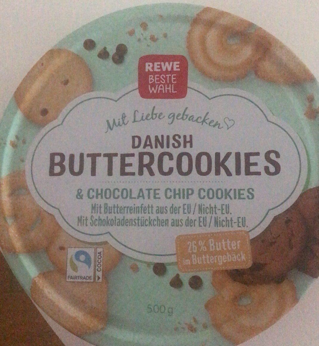 Danish Buttercookies   Rewe   20 g